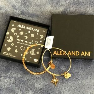 🆕 TWO ALEX AND ANI BRACELET SET IN BOX WITH TAGS